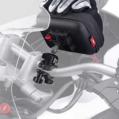 how to connect power supply for tomtom rider 400